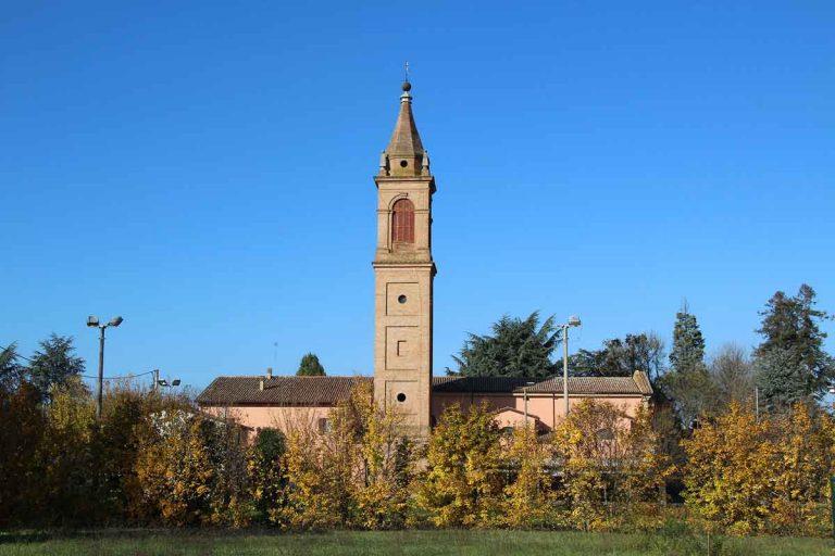 La chiesa di Bubano